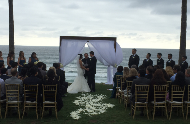Ceremony at Scripps Seaside Forum