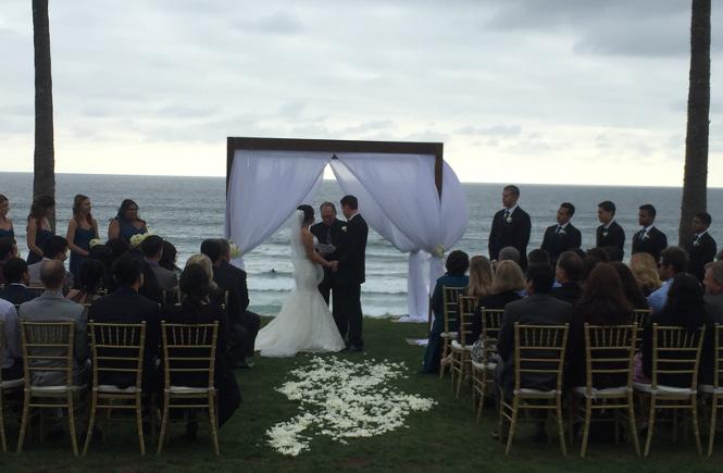 Ceremony at Scripps Seaside Forum