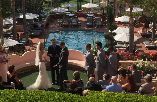 A Ceremony at La Valancia Hotel