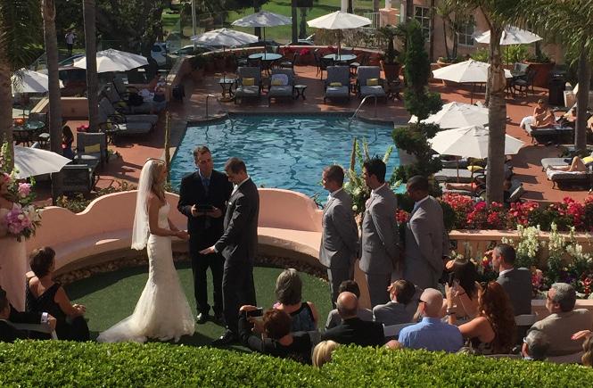 A Ceremony at La Valancia Hotel