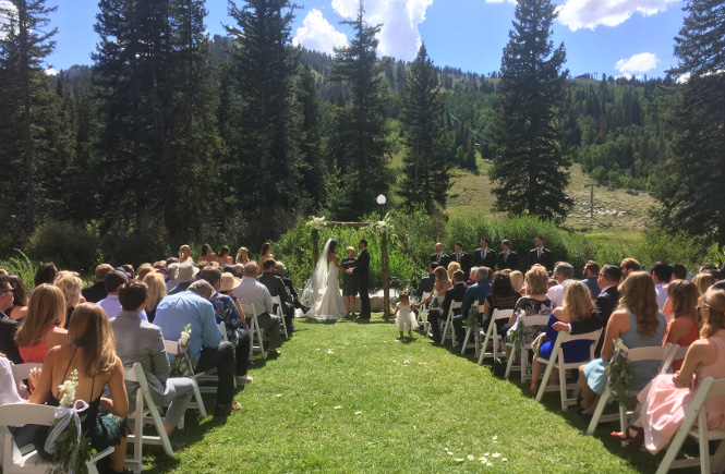 Ceremony at Solitude Mountain Resort