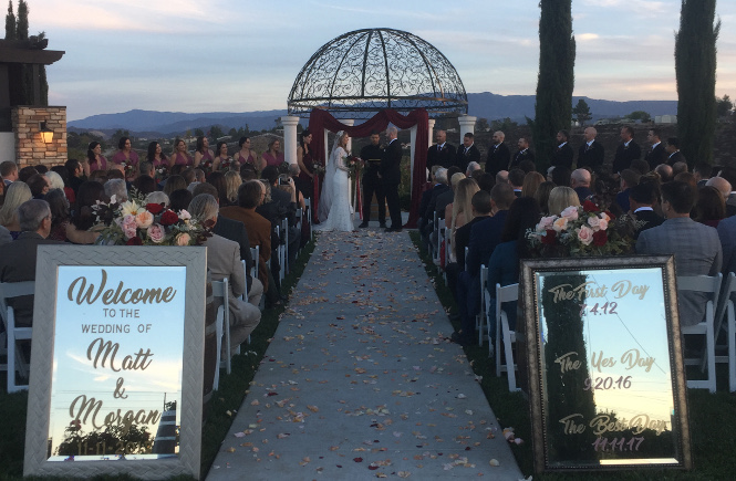 A Wedding at Avensole Winery