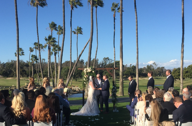A Ceremony at Fairbanks Ranch Country Club