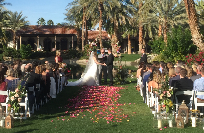 A Ceremony at The Bougainvillea Estate
