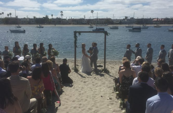 Ceremony at the Garty Pavilion