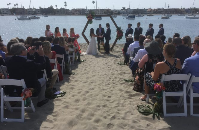 A Wedding in the Sand