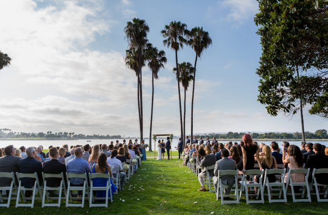A Ceremony at The Dana on Mission Bay