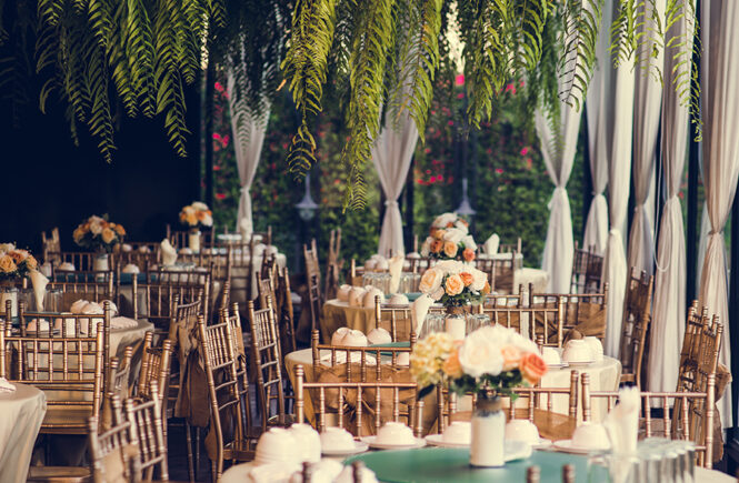 Three Tips to Help You Create the Right Atmosphere at Your Reception